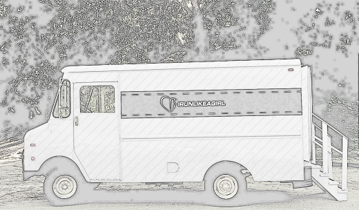 My dream mobile - an IRUNLIKEAGIRL fashion truck.