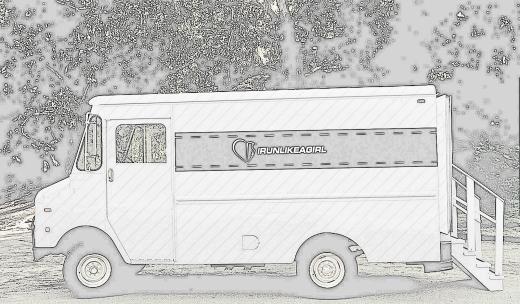 My dream mobile - an IRUNLIKEAGIRL fashion truck.
